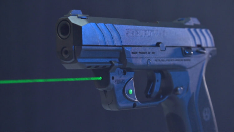Gun News - E-series Green Lasers for Ruger LCP II and Security-9.