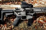 CMMG Banshee Mk17 with Sig Sauer P320 9mm 21-round magazines - review.
