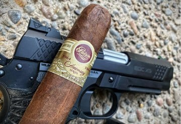 Wilson Combat EDC X9 with Padron Cigar. The finer things in life.