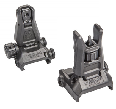 Magpul MBUS Pro Flip-Up Front and Rear Sight Set