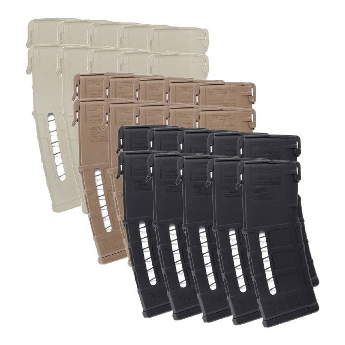 10 Pack of Magpul PMAG GEN M3 Window AR-15 .223/5.56 30-Round Magazine