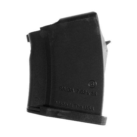 SGM Tactical Saiga 7.62x39mm 5-Round Polymer Black Magazine