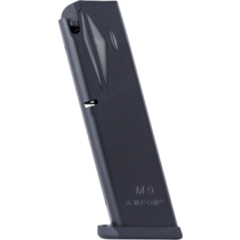 Mec-Gar Beretta 92FS M9 9mm 18-Round Anti-Friction Magazine