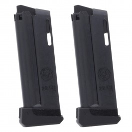 2 Pack Ruger LCP II .22LR 10-Round Magazine