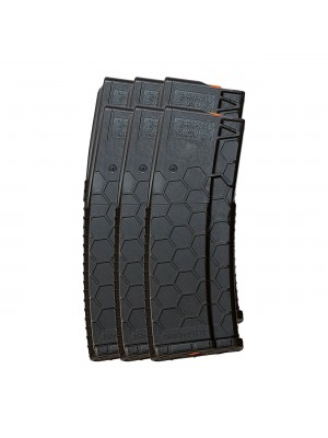 6 Pack of Hexmag Series 2 AR-15 .223/5.56 10/30-Round Polymer Magazine