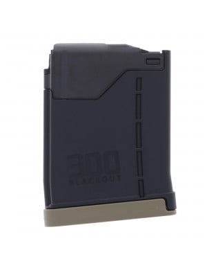 Lancer L5 AR-15 .300 Blackout 10-Round Advanced Warfighter Translucent Smoke Magazine - ALL Colors