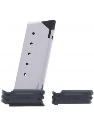 Springfield Armory XD-S .45 ACP 6-Round Magazine w/ X-Tension Sleeves 1 & 2