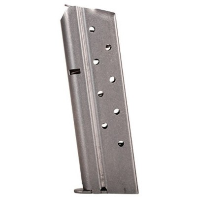 Metalform Standard 1911 Government, Commander .38 SUPER, Stainless Steel (Welded Base & Flat Follower) 9-Round Magazine