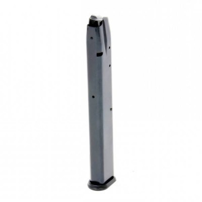 ProMag CZ-75, TZ-75, Magnum Research Baby Eagle 9mm Luger 32-round Magazine Blued Steel