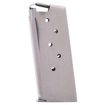 Kimber Micro 9, 9mm Stainless Steel 6-round Magazine 1200497A (gunmagwarehouse®) Left View