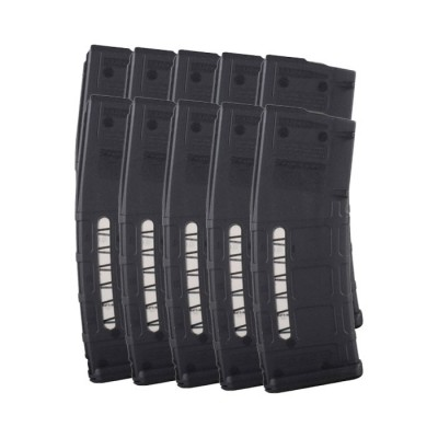 10 PACK Magpul PMAG GEN M2 MOE WINDOW AR-15 .223/5.56 30-Round Magazine 10 Pack Mesh