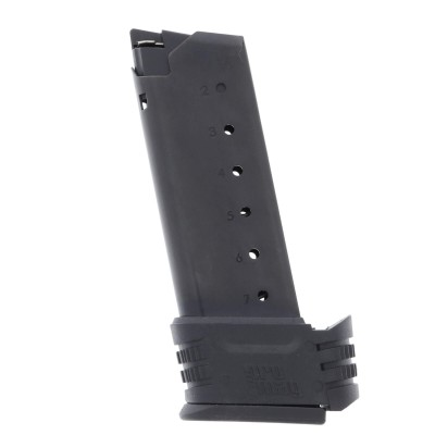 ProMag Springfield XDS .45 ACP 7-Round Blue Steel Magazine Left View