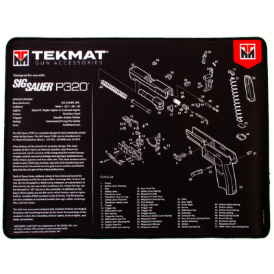 TekMat Ultra Premium Handgun Cleaning Mat P320