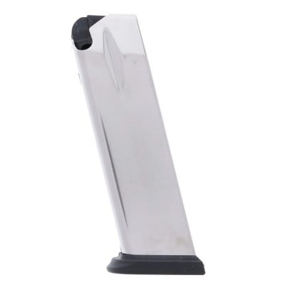 Springfield Armory XD .40 S&W 12-Round Factory Magazine Stainless Steel Left View
