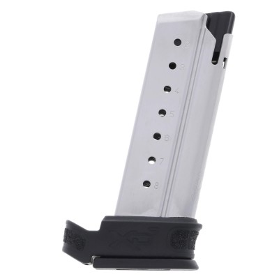 Springfield Armory XD-S/Mod.2 9mm 8-Round Factory Magazine w/ Mod.2 X-Tension Sleeve right