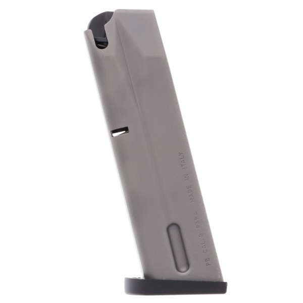 Beretta M9A1, 92FS, 92, 90-Two 9mm 15-Round Sand Resistant Magazine Left View