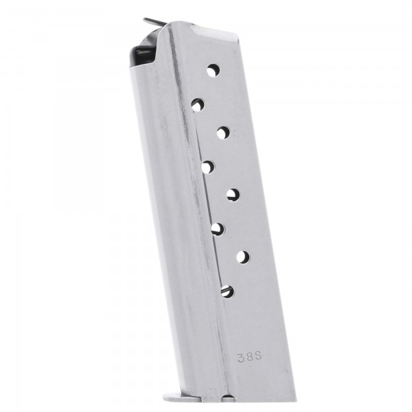 Check-Mate 1911 Compact 9mm 8-Round Stainless Steel Magazine Left