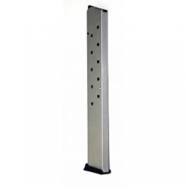 ProMag 1911 .45 ACP 15-round Government, Commander Magazine Nickel-Plated Steel