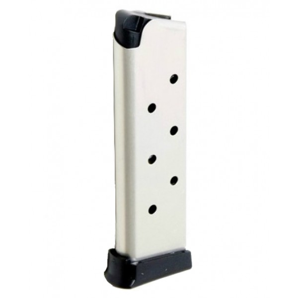 ProMag 1911 .45 ACP 8-round Government, Commander Magazine Nickel-Plated Steel
