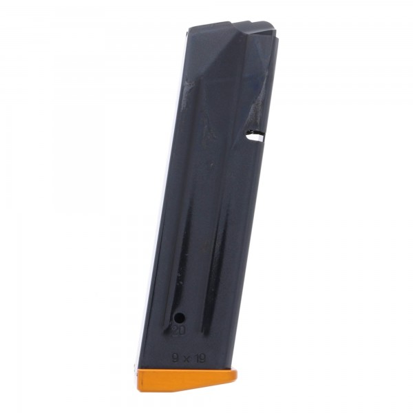CZ 75 TS Orange 9mm 20-Round Magazine Right