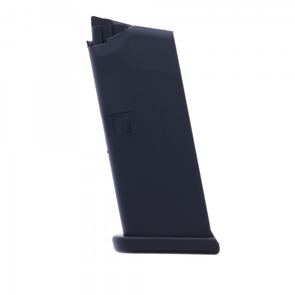 Glock 43 9mm Luger 6-Round Polymer Black Magazine Left View