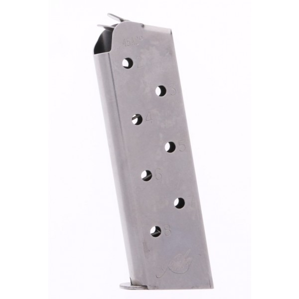 Kimber 1911 .45 ACP Stainless Steel 8-round magazine 1000133A