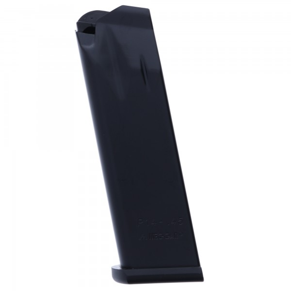 Springfield Armory 1911 .45 ACP 14-round High Capacity service model, Double Stacked, Blued Factory Magazine