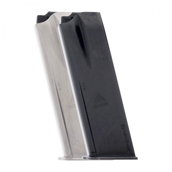 Mec-Gar Browning HP 9mm 15-Round Magazine Left View