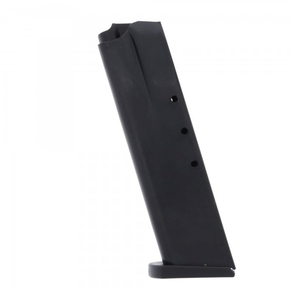 ProMag CZ-75, TZ-75, Magnum Research Baby Eagle 9mm Luger 15-round Magazine Blued Steel Left View