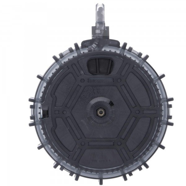 Promag Marlin 795 .22LR 70-Round Drum Magazine Smoke Front View