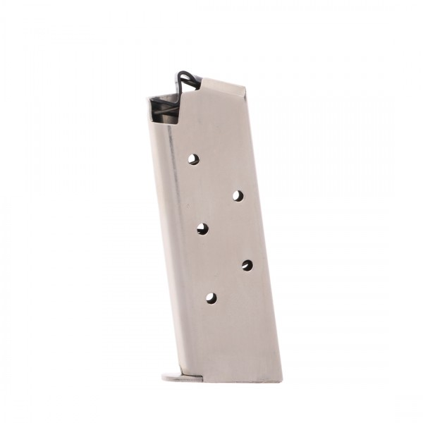 ProMag Colt Mustang & Pocketlite .380 ACP 6-round Magazine Nickel Left