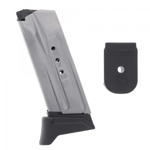 Ruger American Compact Pistol 9mm 10-Round Magazine Left