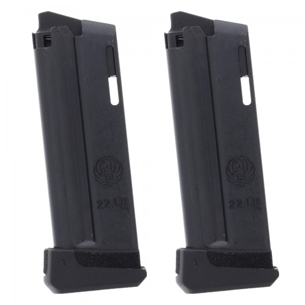 2 Pack Ruger LCP II .22LR 10-Round Magazine 2 Pack