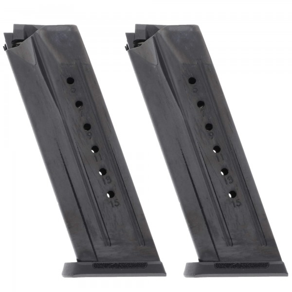 2 Pack Ruger Security-9 9mm 15-Round Magazine 2 pack