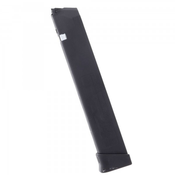 SGM Tactical Glock 17, 19, 26, 34 9mm Luger 33-Round Polymer Magazine Left View