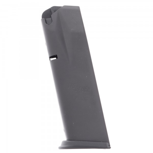 Sig Sauer P228/P229 9mm 13-Round Magazine Steel Left View