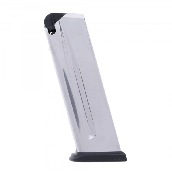 Springfield Armory XD/XDM .45 ACP 10-Round Factory Magazine Stainless Steel Left View