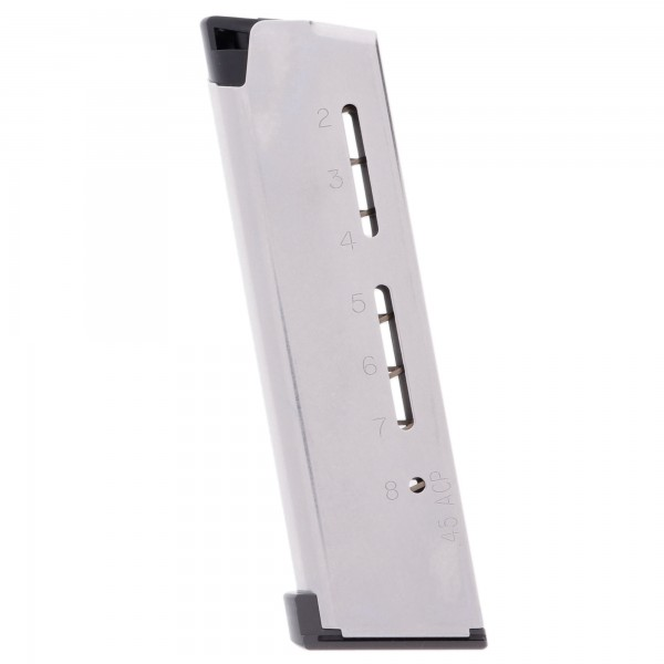Wilson Combat 1911 Elite Tactical Compact 9mm 9-Round Magazine with Pad Left View