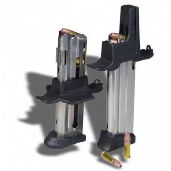 Maglula X12-Lula and T12-Lula .22LR Magazine Loaders for Wider Single-Stack Magazines with a Projecting Side-Button