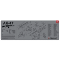 TekMat Long Gun Cleaning Mat AK-47 (Gray)