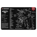TekMat Handgun Cleaning Mat Beretta 92