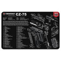 TekMat Handgun Cleaning Mat CZ-75