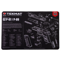 TekMat Handgun Cleaning Mat CZ P-07/P-09