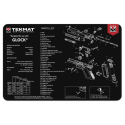 TekMat Handgun Cleaning Mat Glock