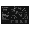 TekMat Handgun Cleaning Mat Glock 42/43