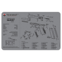 TekMat Ultra Premium Handgun Cleaning Mat Glock G4 (Gray)
