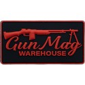 Throwback Gunmag Logo PVC Patch