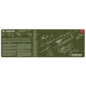 TekMat Long Gun Cleaning Mat M1 Garand (ODG)
