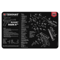 TekMat Handgun Cleaning Mat Ruger Mark IV