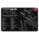 TekMat Handgun Cleaning Mat H&K P30